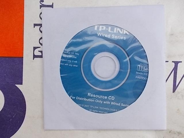 CD-диск для установки роутера TP-Link