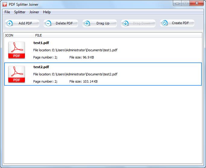 Программа PDF Joiner