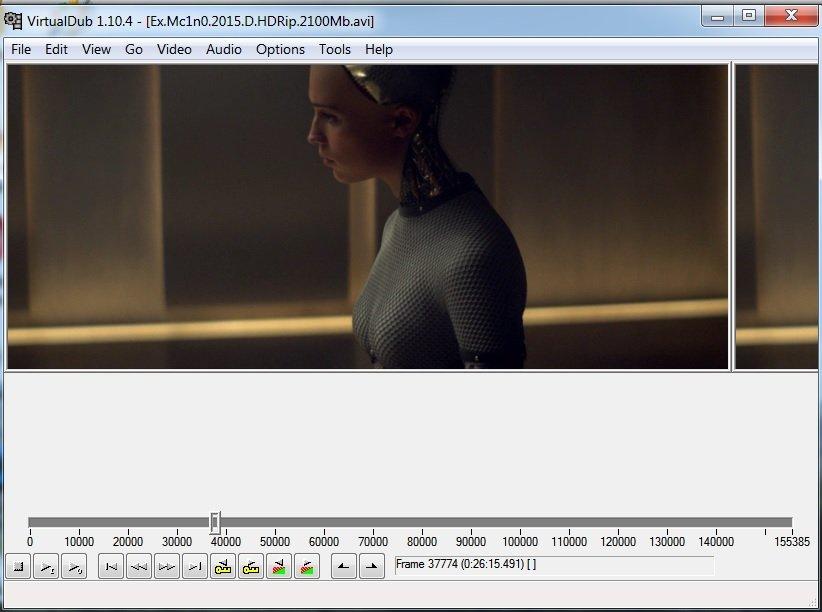 Программа для видеомонтажа VirtualDub