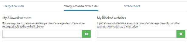 Блокируем или разрешаем веб-сайты