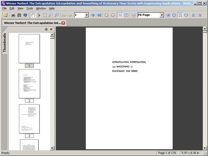 DjVu-файл открылся WinDjView
