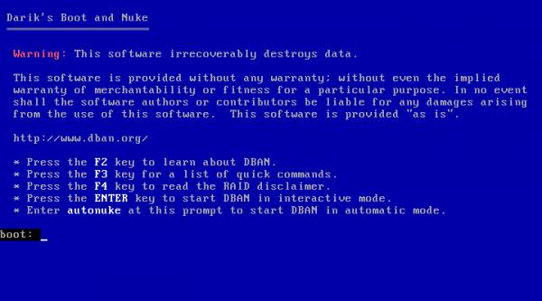 Экран программы с доступными параметрами