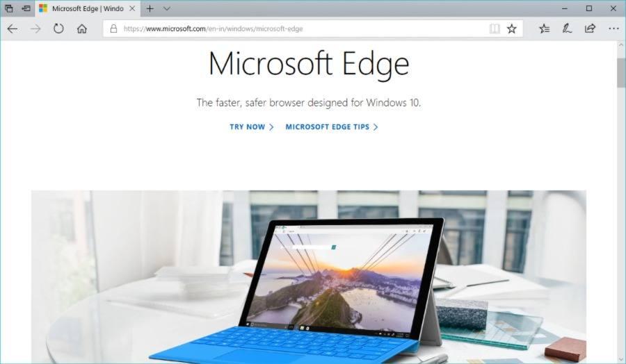 Edge интегрируется с Windows 10 лучше, чем любой другой браузер