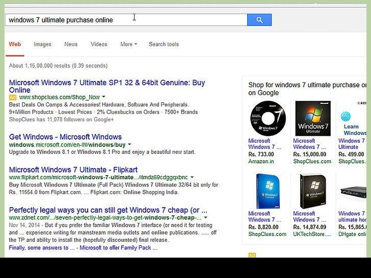Если вы являетесь обладателем официальной копии ОС Windows, вы можете создать загрузочный USB-накопитель из программы установки Windows
