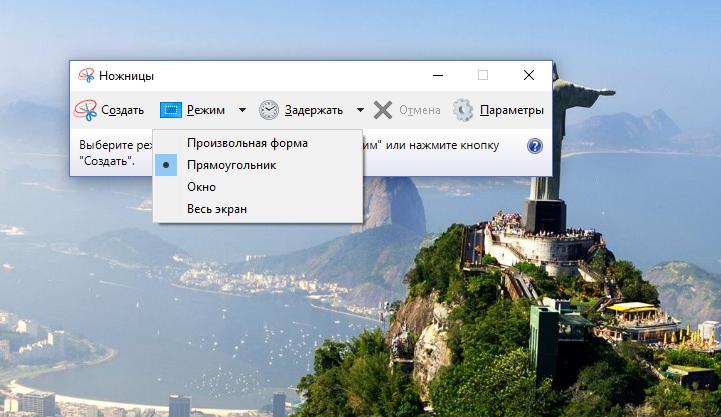 Форма скриншота