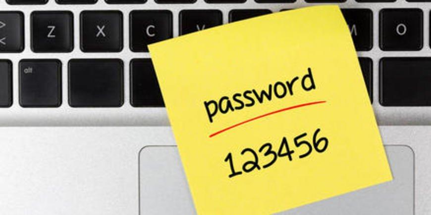 Хорошо подобранный пароль является залогом уверенности в сохранении данных