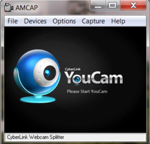 Интерфейс программы AMcap