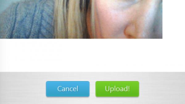 Кнопка «Upload» позволит вам сохранить фотографию