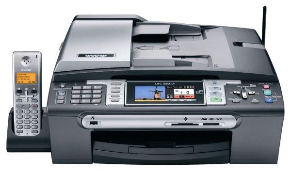 МФУ с принтером, ксероксом, копиром и факсом