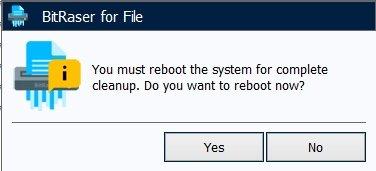 Нажимаем кнопку «Yes» и перезагружаем Windows 7