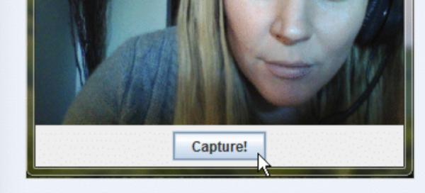 Нажимаем на кнопку «Capture!», чтобы сделать кадр
