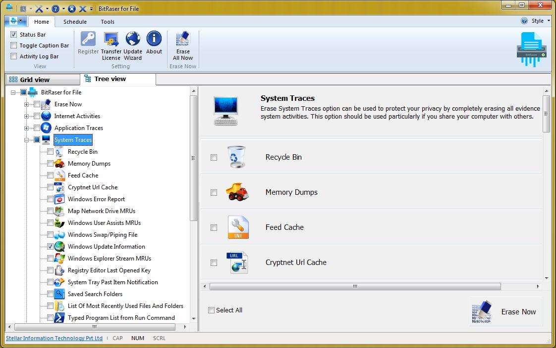 Очищаем кэш-память с помощью программы Stellar BitRaser for File