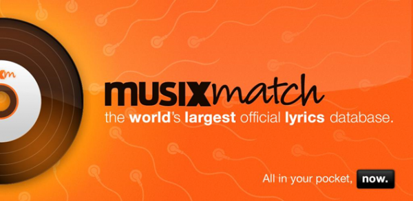 Онлайн-приложение MusiXmatch
