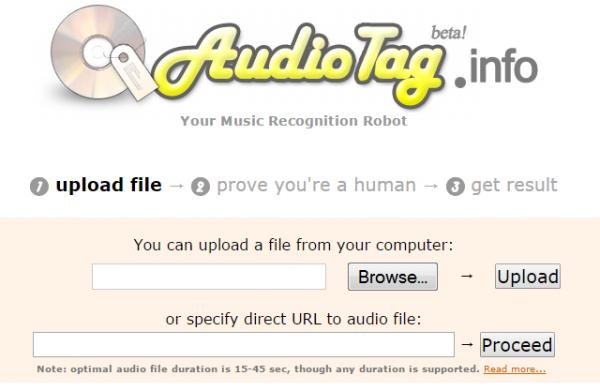 Онлайн сервис AudioTag
