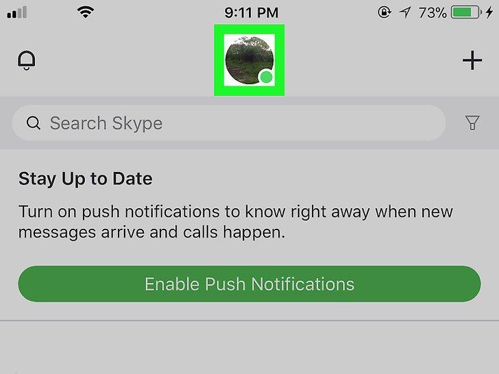 Открываем Skype