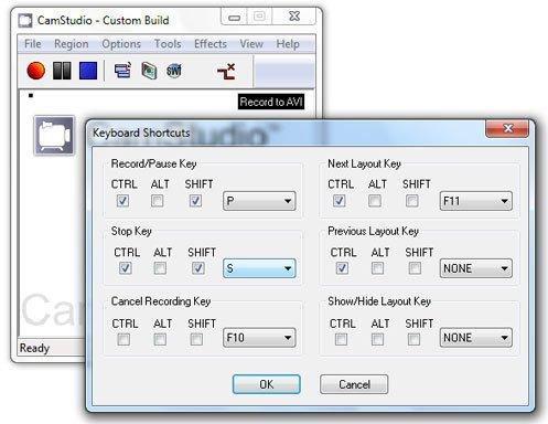 Приложение CamStudio