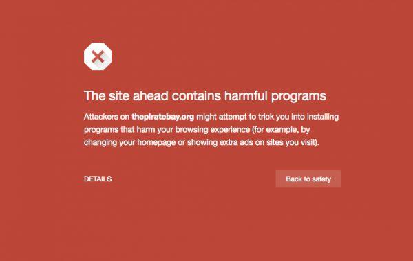 Сайт Google Safe Browsing для тестирования ссылок на безопасность
