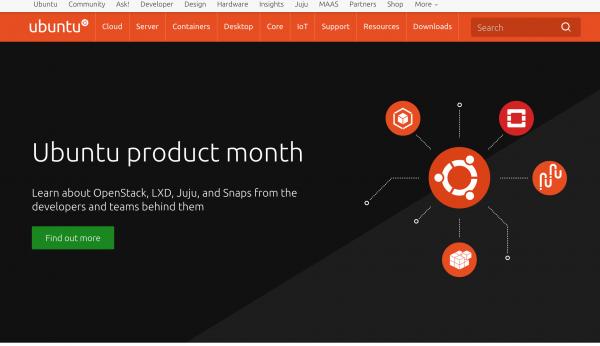 Скачиваем ISO-файл дистрибутива Ubuntu