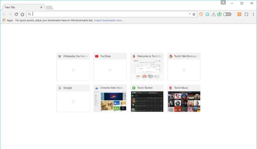 Torch Browser предназначен в первую очередь для пользователей, которые скачивают материал каждый день