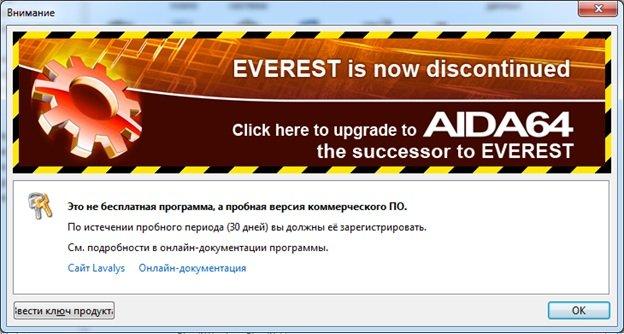 У программы Everest существует тестовый период 30 дней