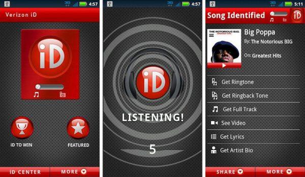 Устанавливаем приложение MusicID на мобильное устройство
