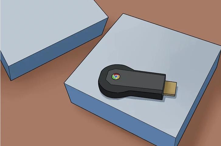 Chromecast device looks like a USB flash drive