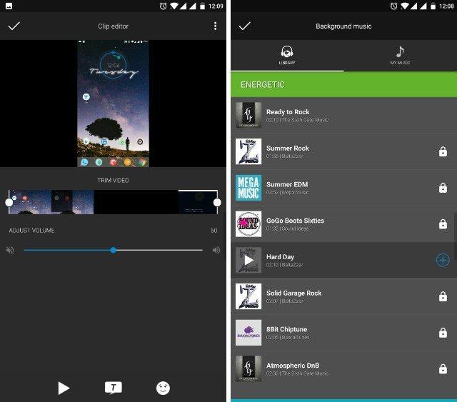 Video Editor содержит множество функций, которые позволяют создавать качественные видеоролики