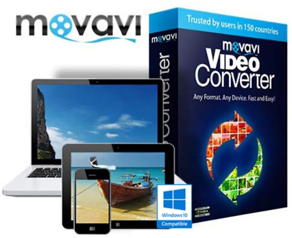 Видео конвертер Movavi Video Converter