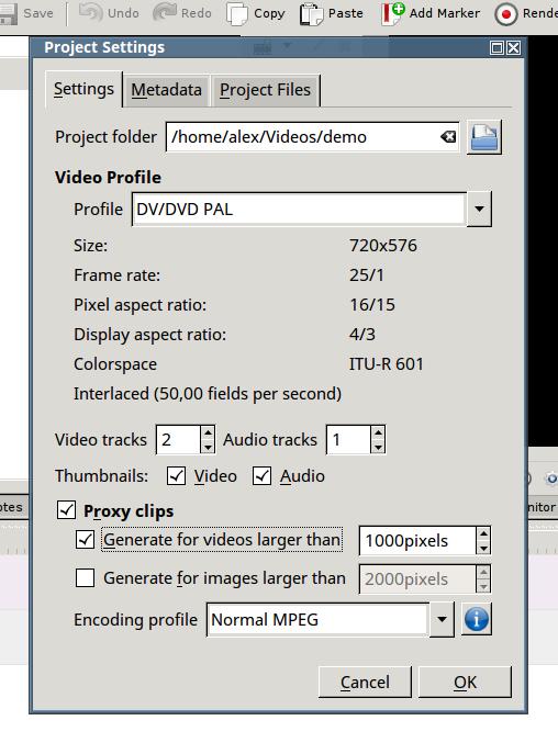 Выбираем количество видео, аудио, пиксели и формат видео