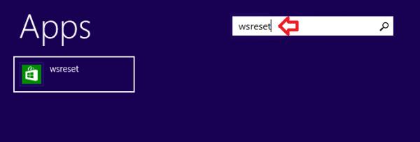 Загрузка программ из «Windows Store» через меню «Пуск» с помощью команды wsreset