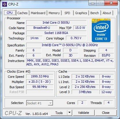 Запускаем программу, нажимаем на вкладку «CPU» и находим строку «Cores»