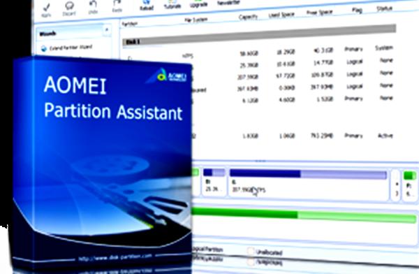 Используем утилиту AOMEI Partition Assistant для более полной очистки диска С