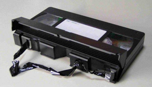 Износ плёнки на видеокассетах