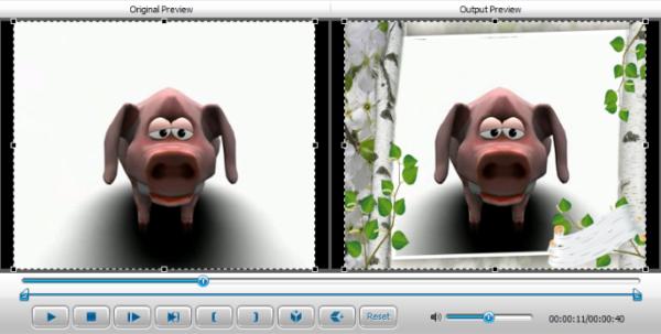 Как фото наложить на видео