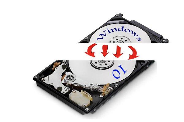 Объединение разделов жесткого диска