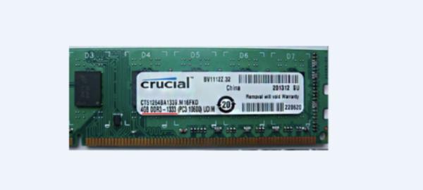 Осматриваем наклейку на оперативной памяти и находим нужные нам данные