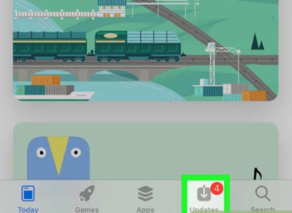 Открываем приложение App Store для IOS