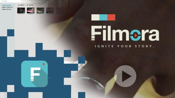 Открываем программу Filmora
