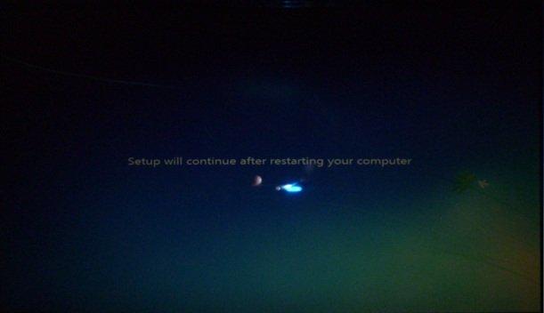 Перезапуск компьютера