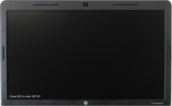 При включении ноутбука интенсивно нажимаем клавишу F10 или Esc