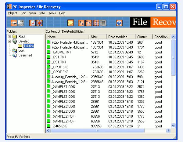 Программное обеспечение PC Inspector