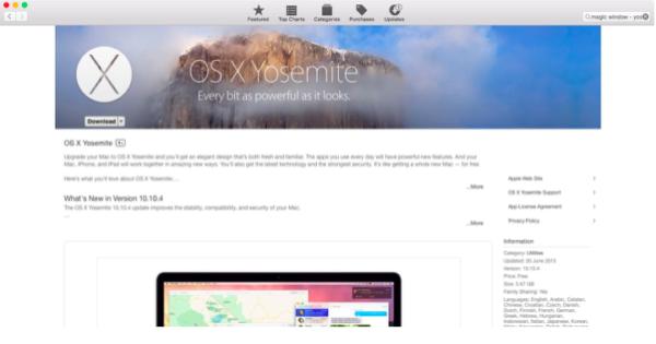 Скачиваем дистрибутив нужной версии macOS