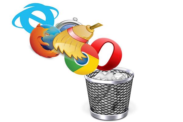 Удаляем ненужные браузеры