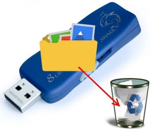 Удалённые файлы с флешки