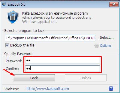 Устанавливаем пароль