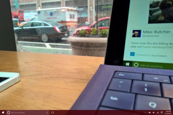В режиме Tablet Mode, получаем экран запуска вместо стартового меню