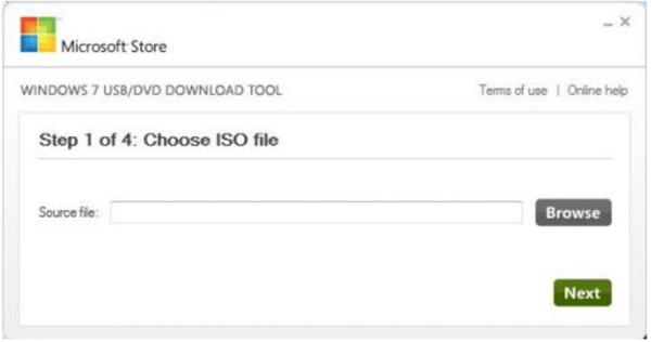 Выбираем расположение образа установочного диска Windows 10