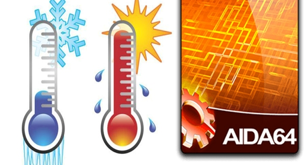 AIDA64 температура процессора