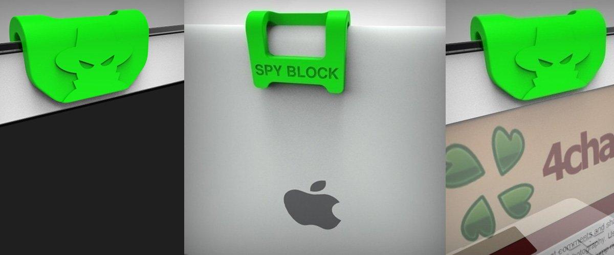 Аксессуар для ноутбука, закрывающий веб-камеру