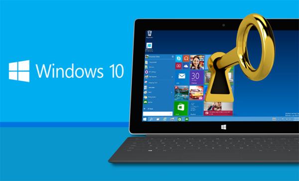 Для устранения ошибки 0x803f7001 используем настоящий ключ активации системы Windows 10